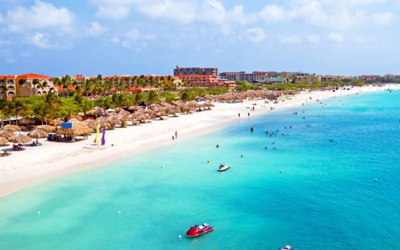 Waar overnachten in Aruba