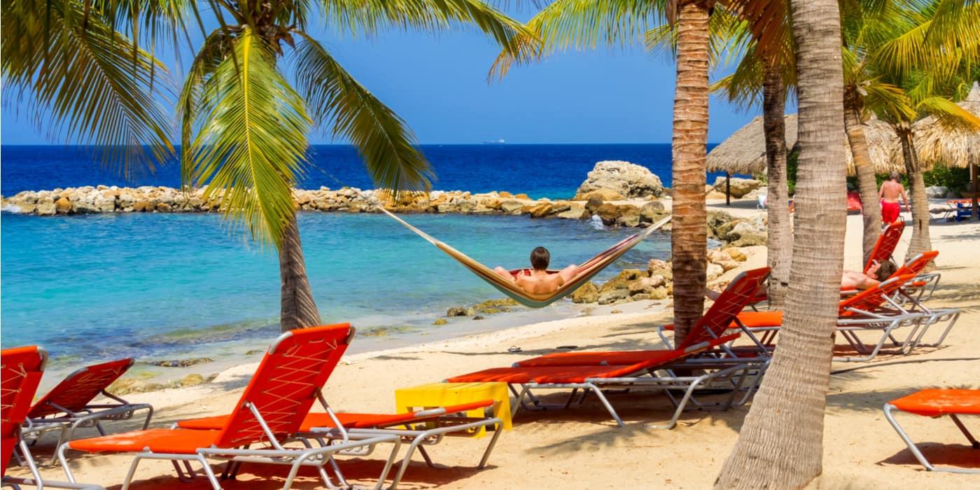 Waar overachten in Blauw Baai Curacao