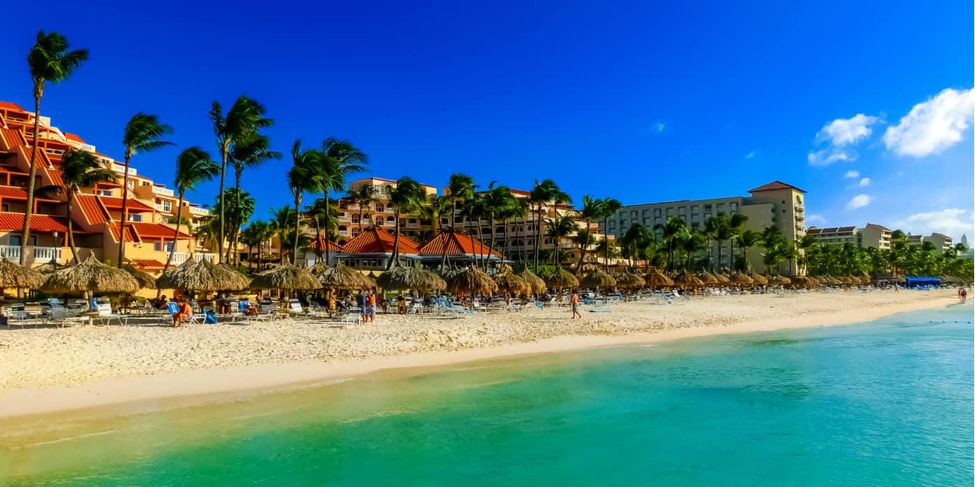 Waar overnachten op Aruba?