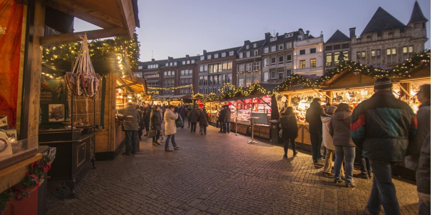 Kerstmarkt Aken Duitsland