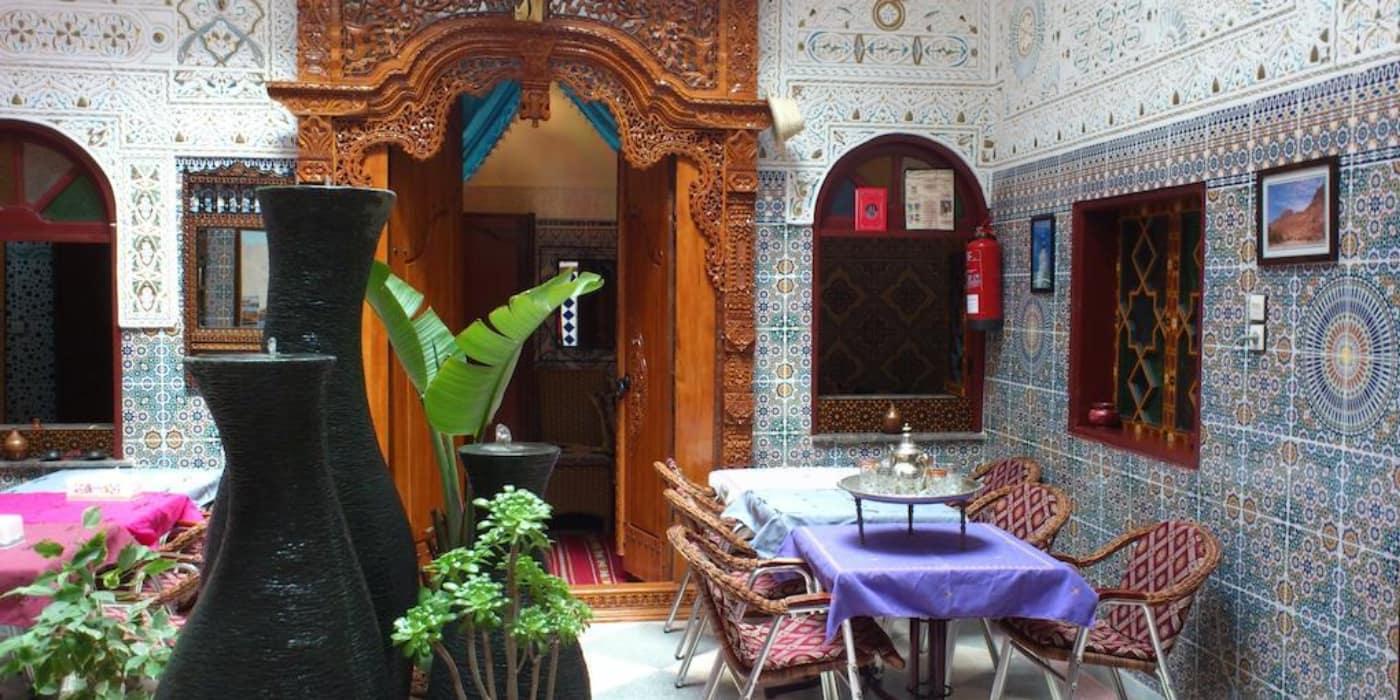 Ryad Bab Berdaine Meknes Marokko