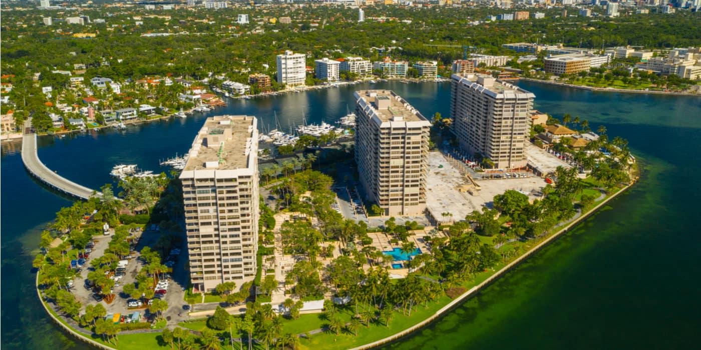 Waar overnachten bij Coconut Grove Miami USA?