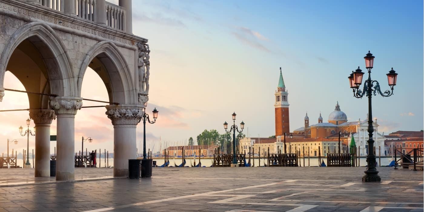 Waar overnachten bij het San Marcoplein in Venetie Italie