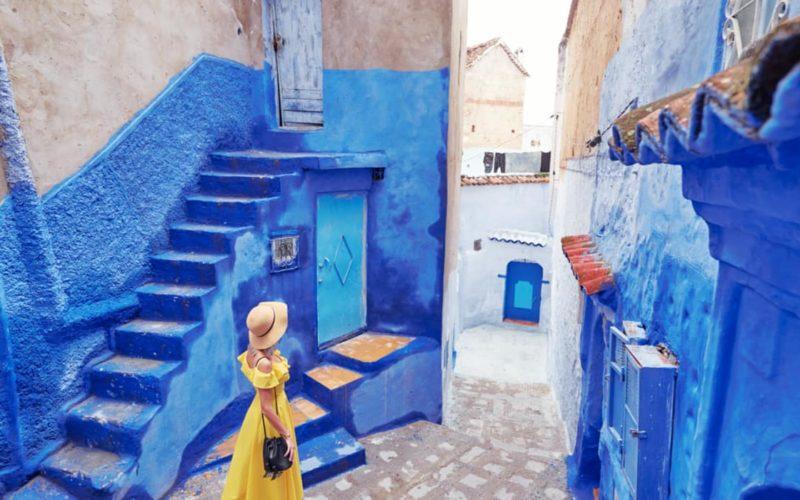 Waar overnachten in Chefchaouen Marokko1