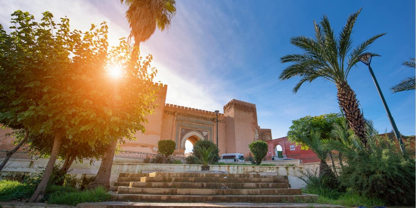 Waar overnachten in Meknes Marokko