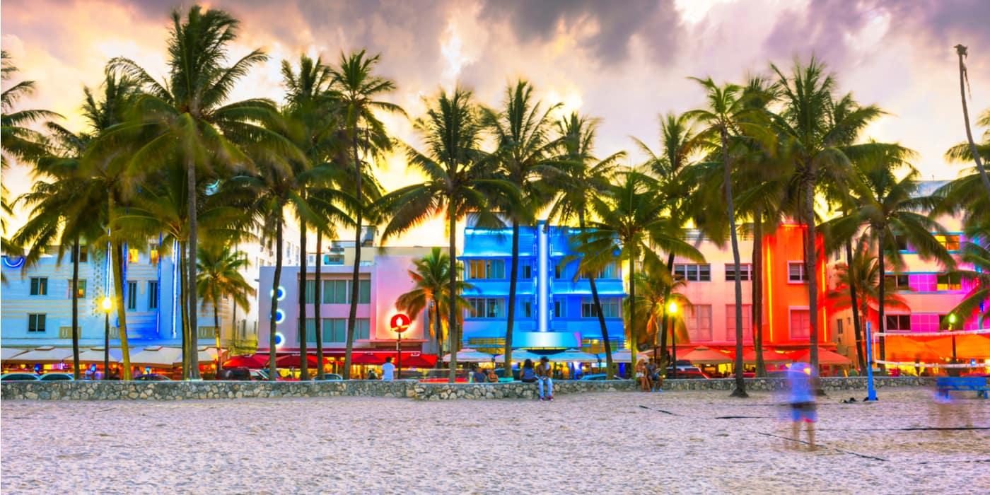 Waar overnachten in Miami Beach USA