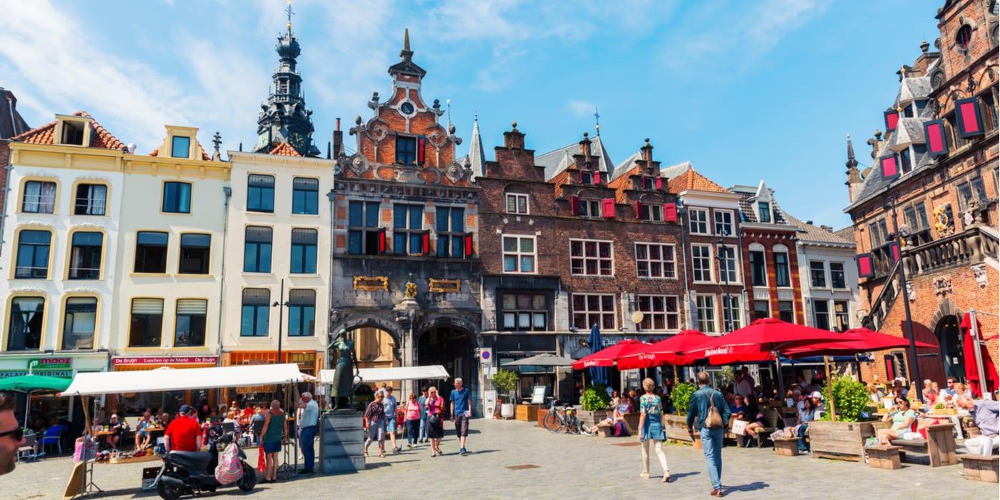 Hotels bij het station van Nijmegen