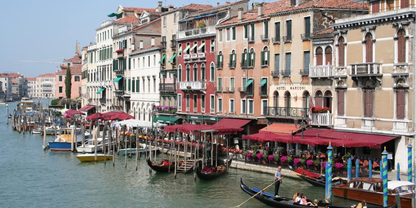 Waar overnachten in San Polo in Venetie Italie