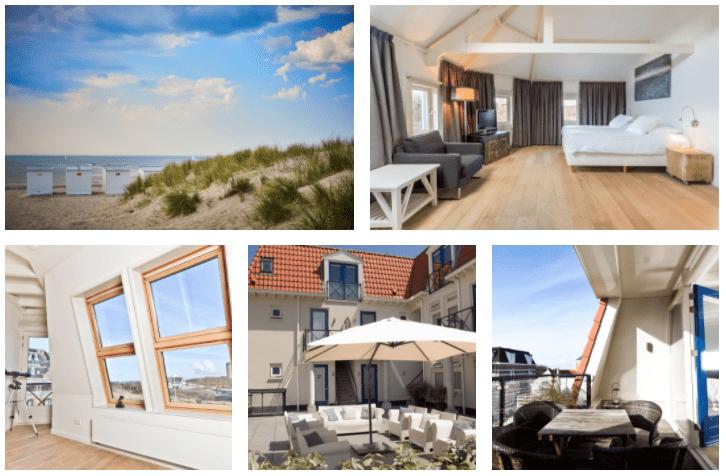 Een diervriendelijk hotel aan het strand in Domburg