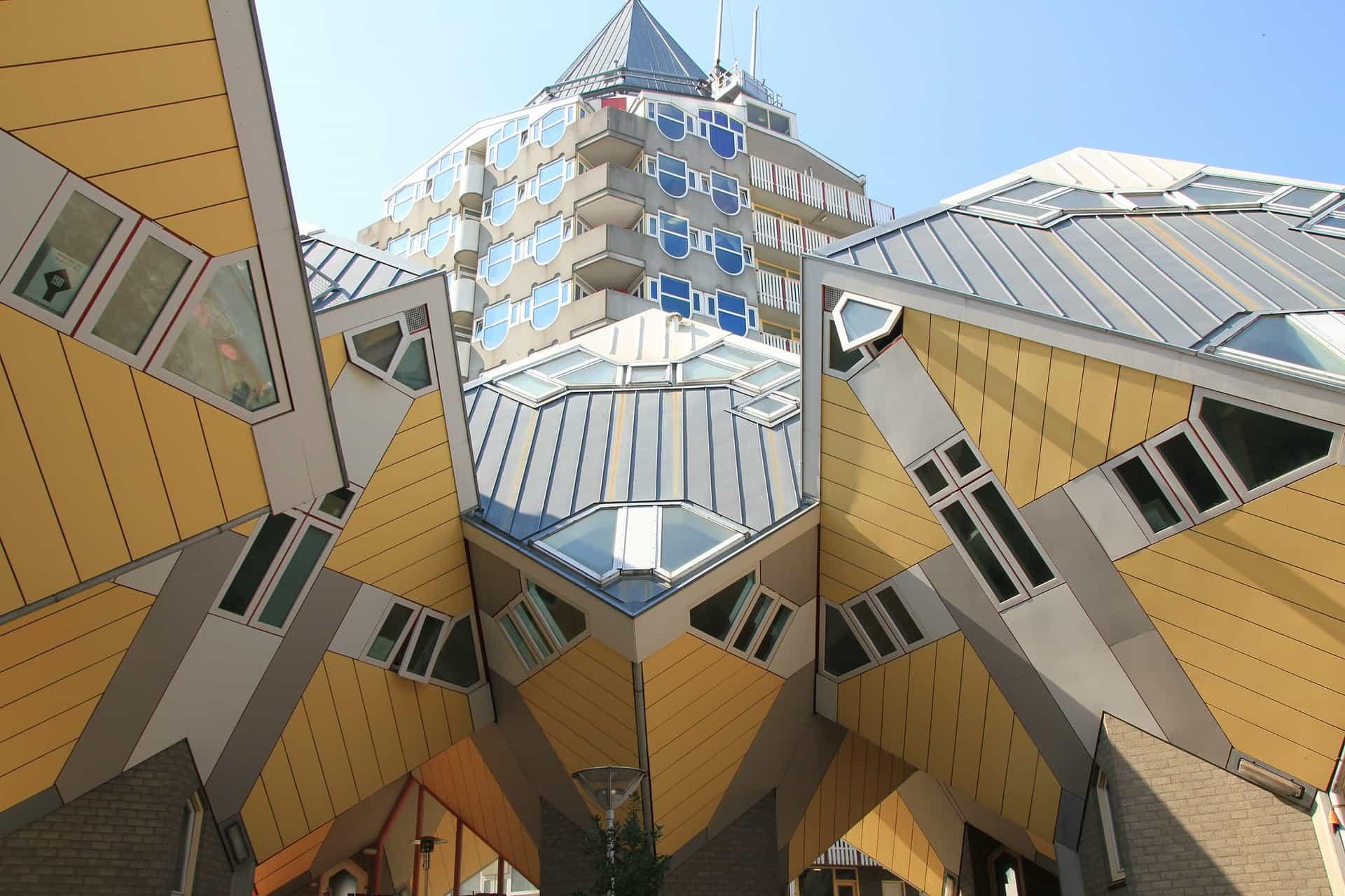 Waar overnachten in Rotterdam Pixabay