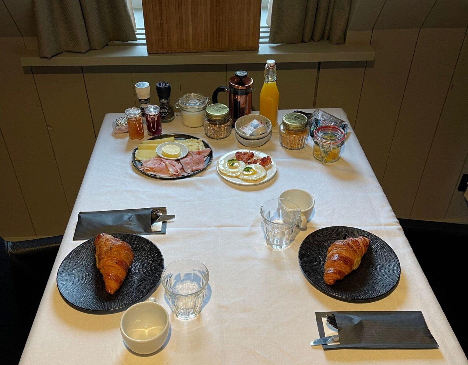 Hotel de Abdij Dokkum ontbijt