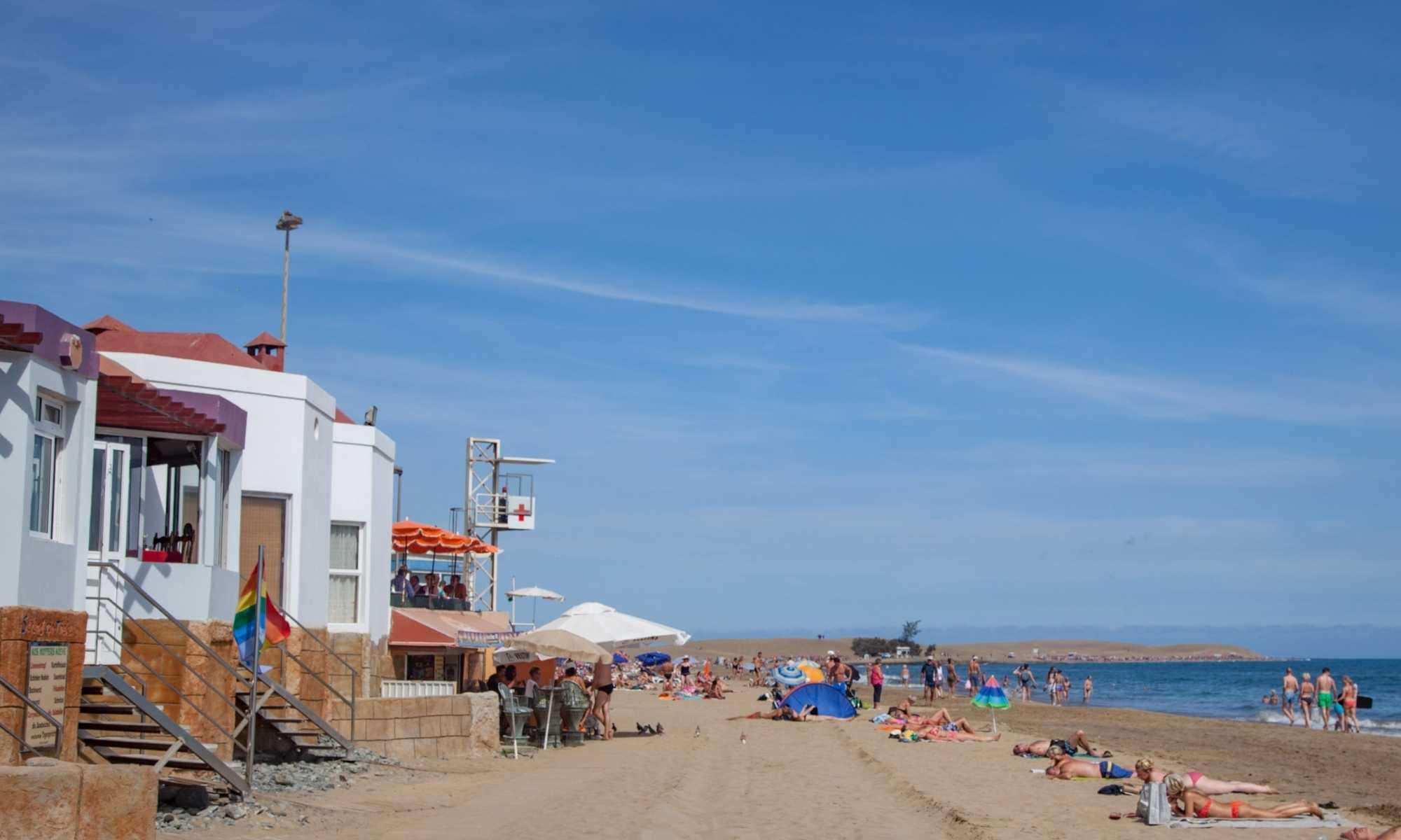 Hotels bij het strand Playa del Ingles
