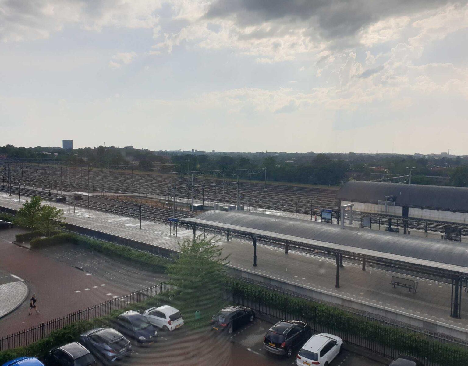 Mercure Nijmegen uitzicht