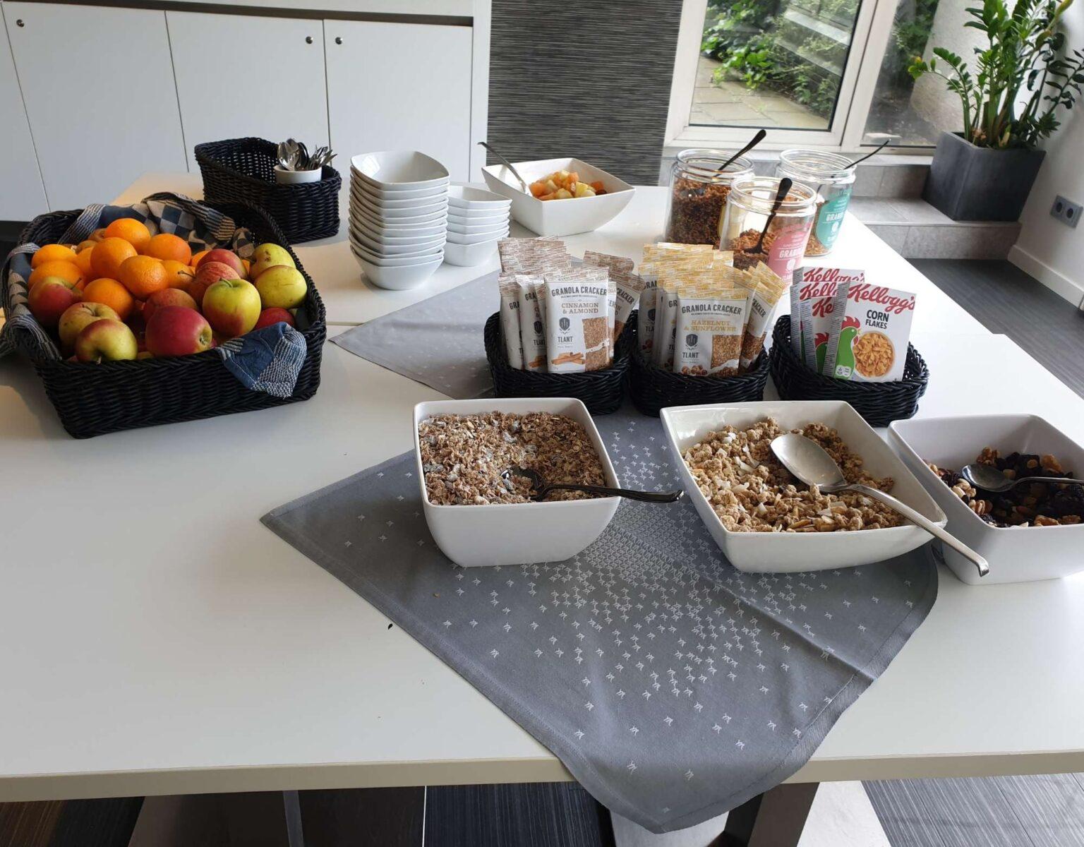 Mercure Nijmegen Ontbijt - Ontbijtgranen