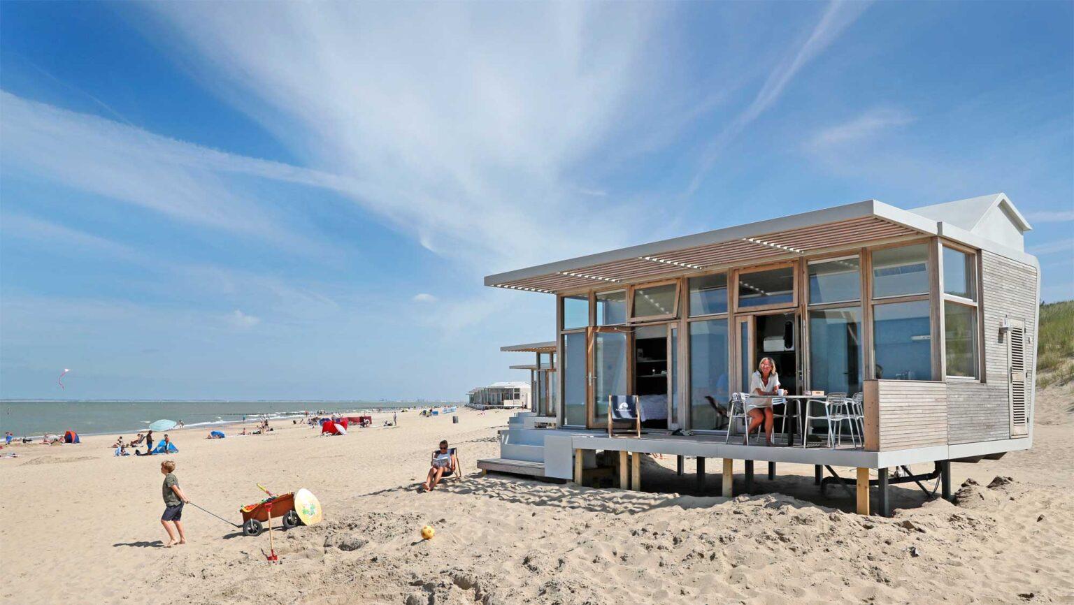 Strandhuisje aan Zee Molecaten