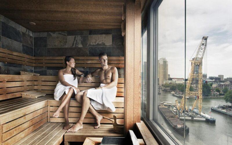 Mainport Design Hotel | Hotel met Sauna op kamer Rotterdam