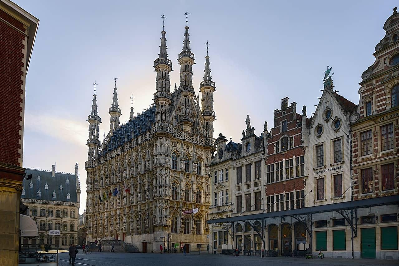 Overnachten Leuven Centrum Pixabay