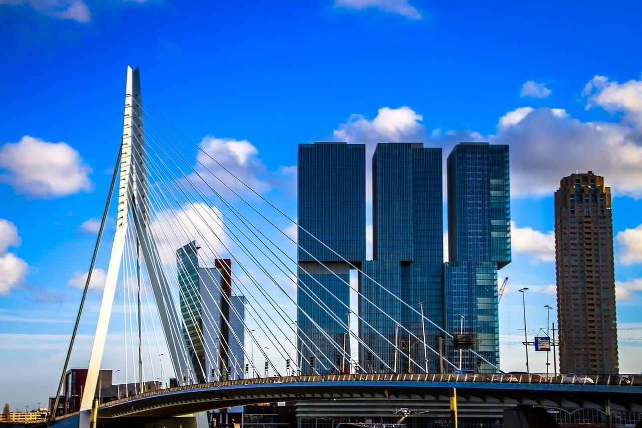 Hotels bij de Kop van Zuid Rotterdam