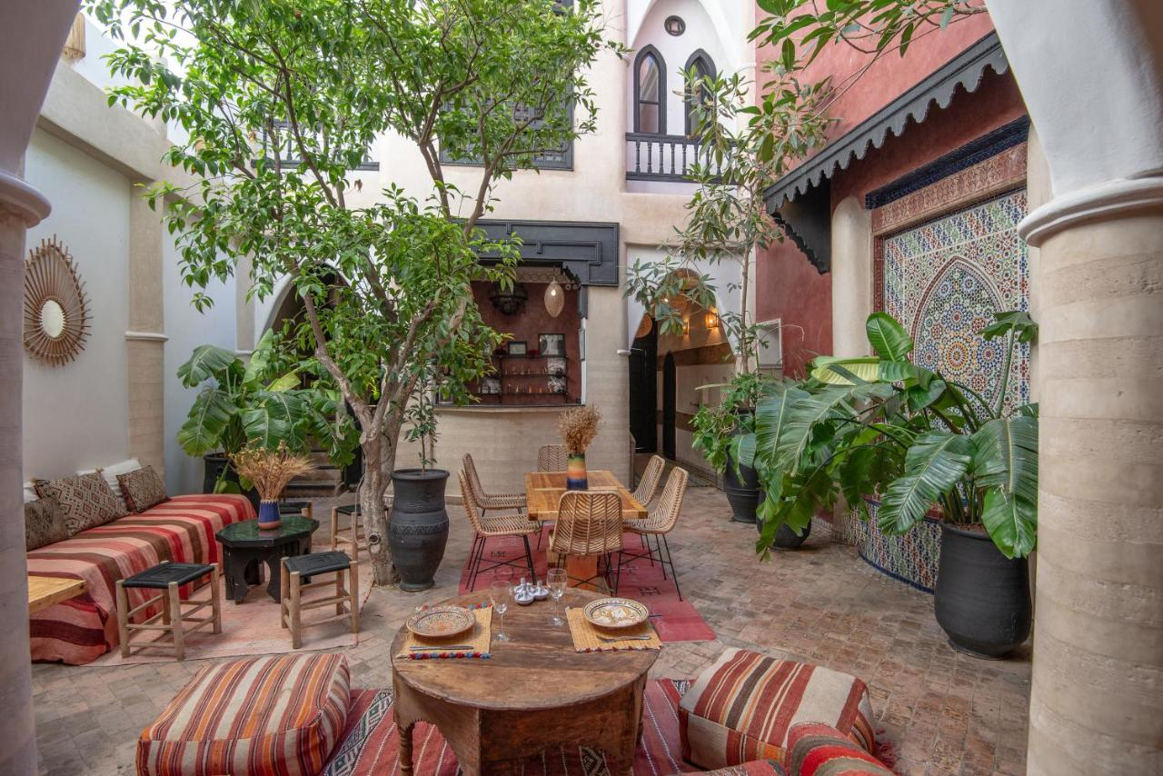 Riad Spa Sindibad Overnachten in Marrakesh